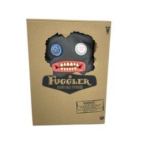 "Fuggler 12"" Funny Ugly Monster CLAWEY Plush Grey New Unopened"