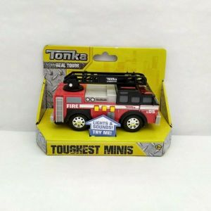 Tonka Toughest Minis Fire Department Realistic Sounds Sirens Lights NEW