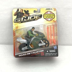 GI Joe Retaliation Road Retaliator Motorcycle with FLINT Action Figure