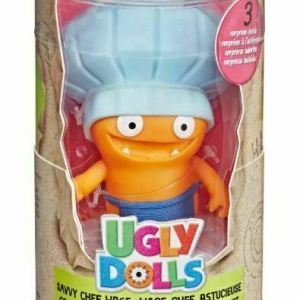 Hasbro Ugly Dolls Surprises Disguise Savvy Chef Wage Blue hat Figure
