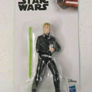 "Luke Skywalker Disney Star Wars Hasbro Toy Figure 4"", NEW 2019 w/ lightsaber"