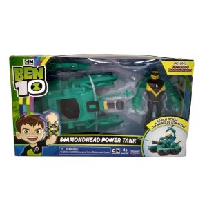 Ben 10 Diamondhead Power Tank – launches a dense diamond detonator! NEW