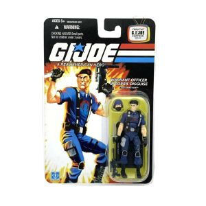 "GI Joe 25th Anniversary FLINT v13 Warrant Officer In Cobra Disguise 2008 3.75"""