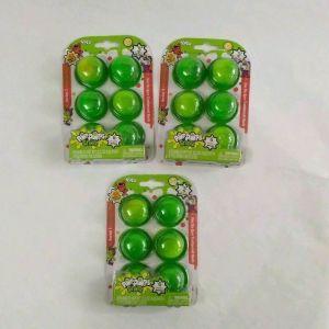 Lot of 3 Pop Snotz Series 1 Starter Packs – 18 Bubbles 6 Figures