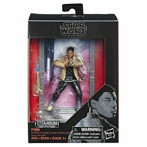 Star Wars Finn Action Figure The Titanium Series Hasbro