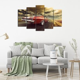 Stylish car wall canvas