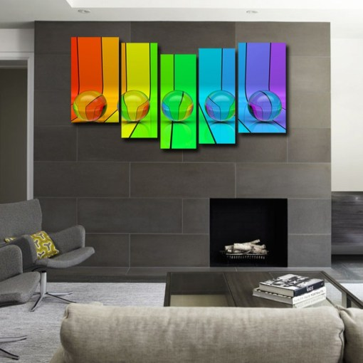 colorful wall canvas