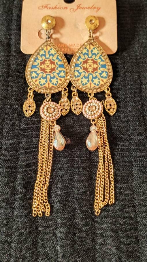 Gold Earring Design for Female