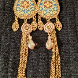Gold Earring Design for Female