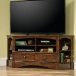 Sauder Harbor View Corner Entertainment Credenza Media