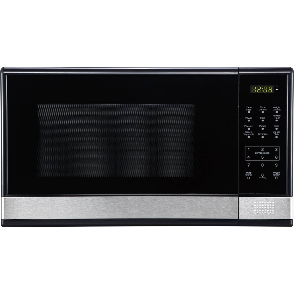 simply perfect 1 1cf microwave oven stainless steel