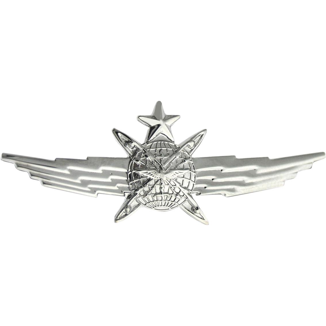 Air Force Senior Cyberspace Operator Badge Mirror Finish