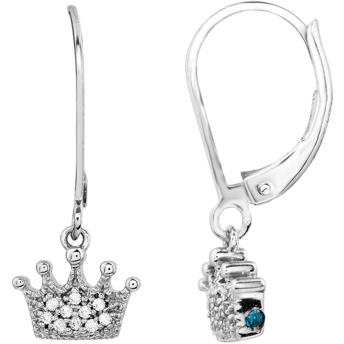 Forever Princess Collection 10k White Gold 1 10 Ctw Crown