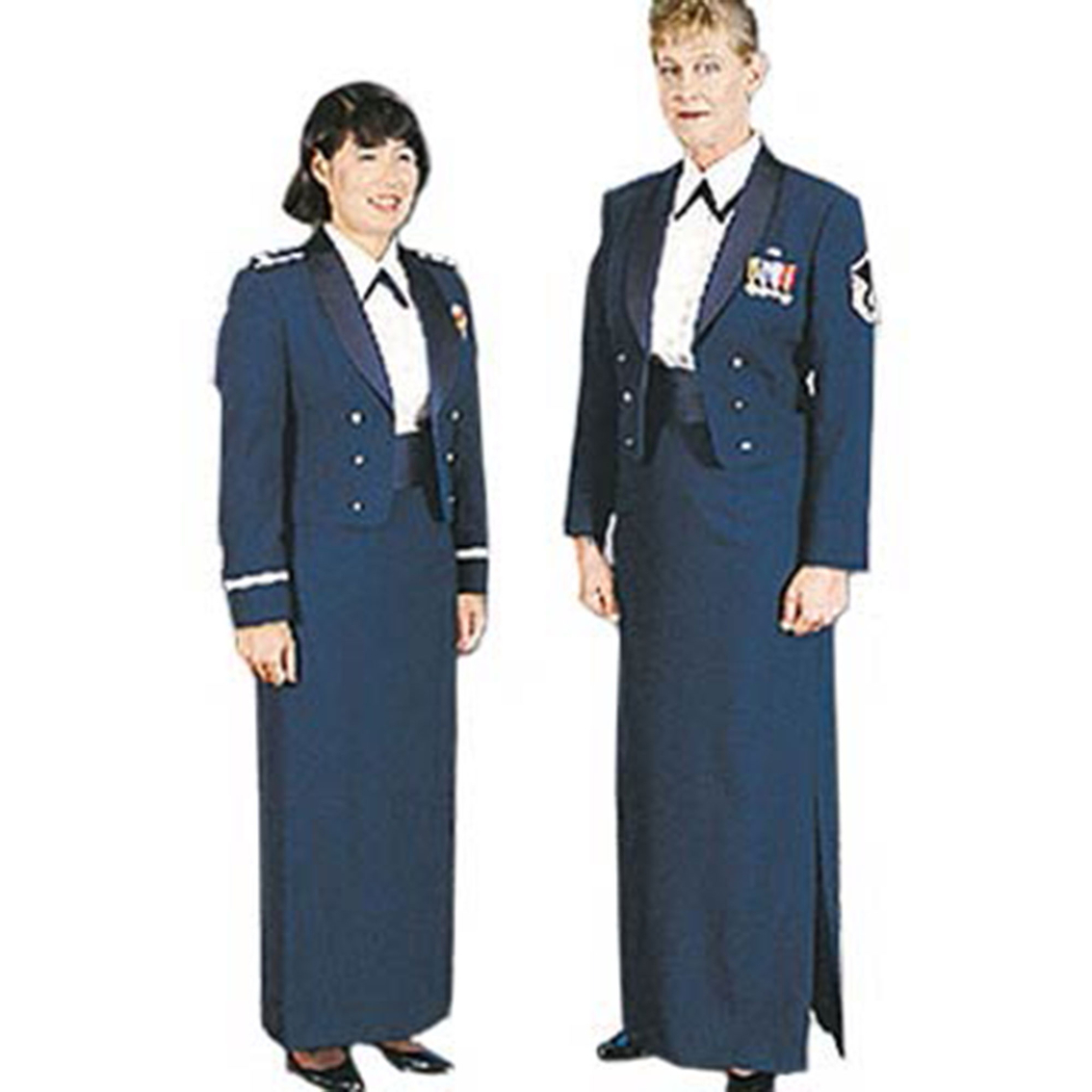Air Force Female Mess Dress Necktab