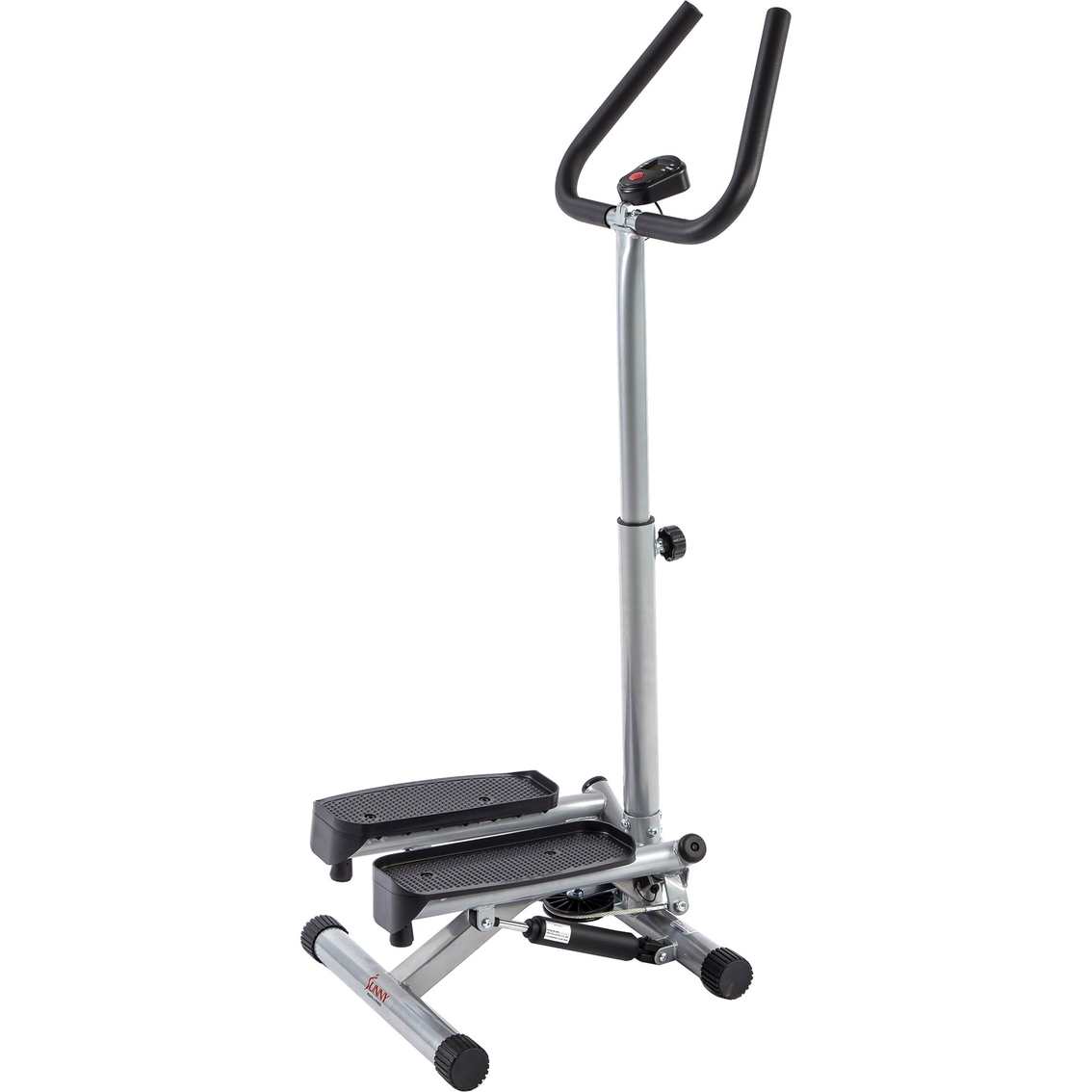 Sunny Health And Fitness Twist Stepper With Handle Bar