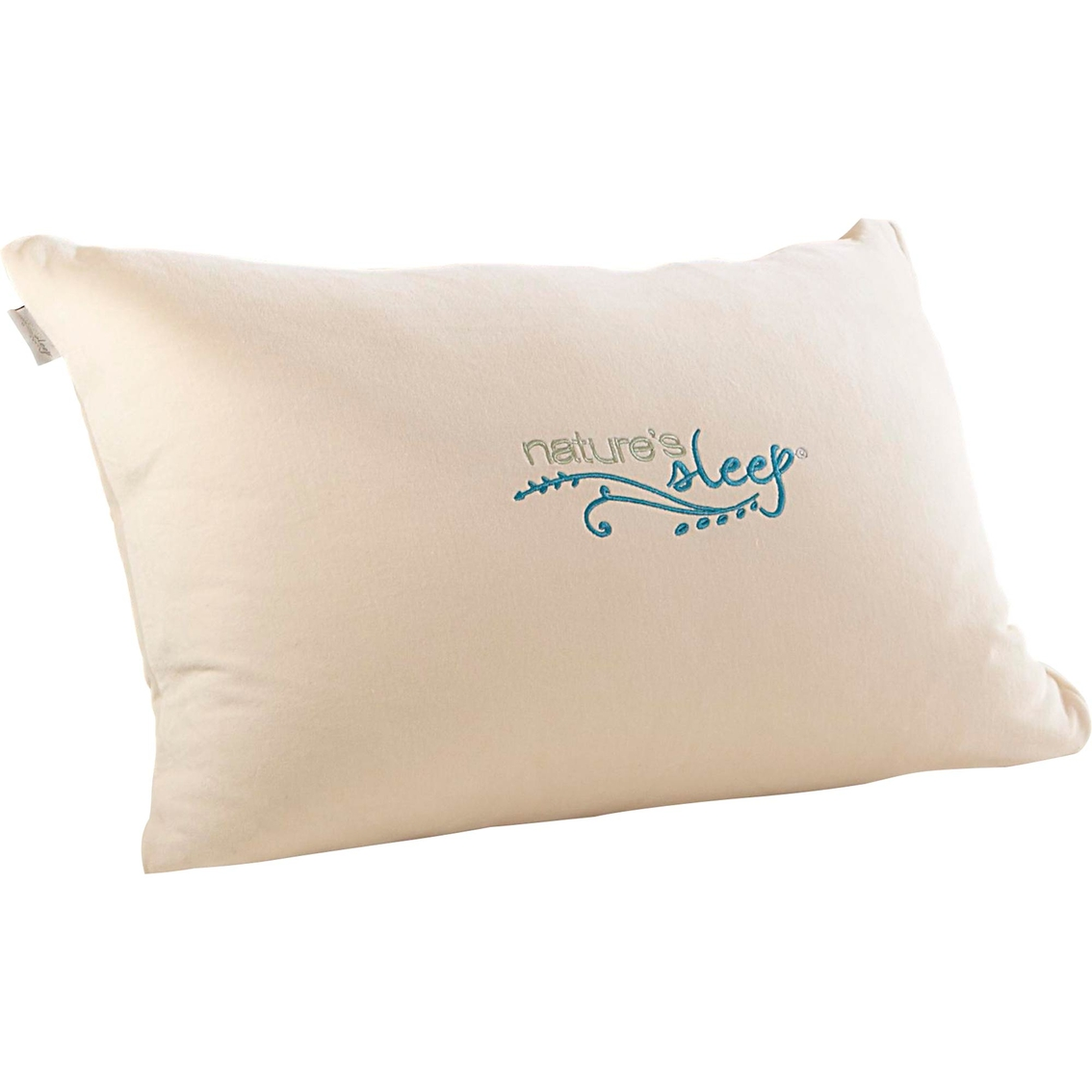 nature s sleep faux down pillow bed