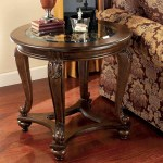 Signature Design By Ashley Traditional Norcastle Round End Table Living Room Tables Furniture Appliances Shop The Exchange