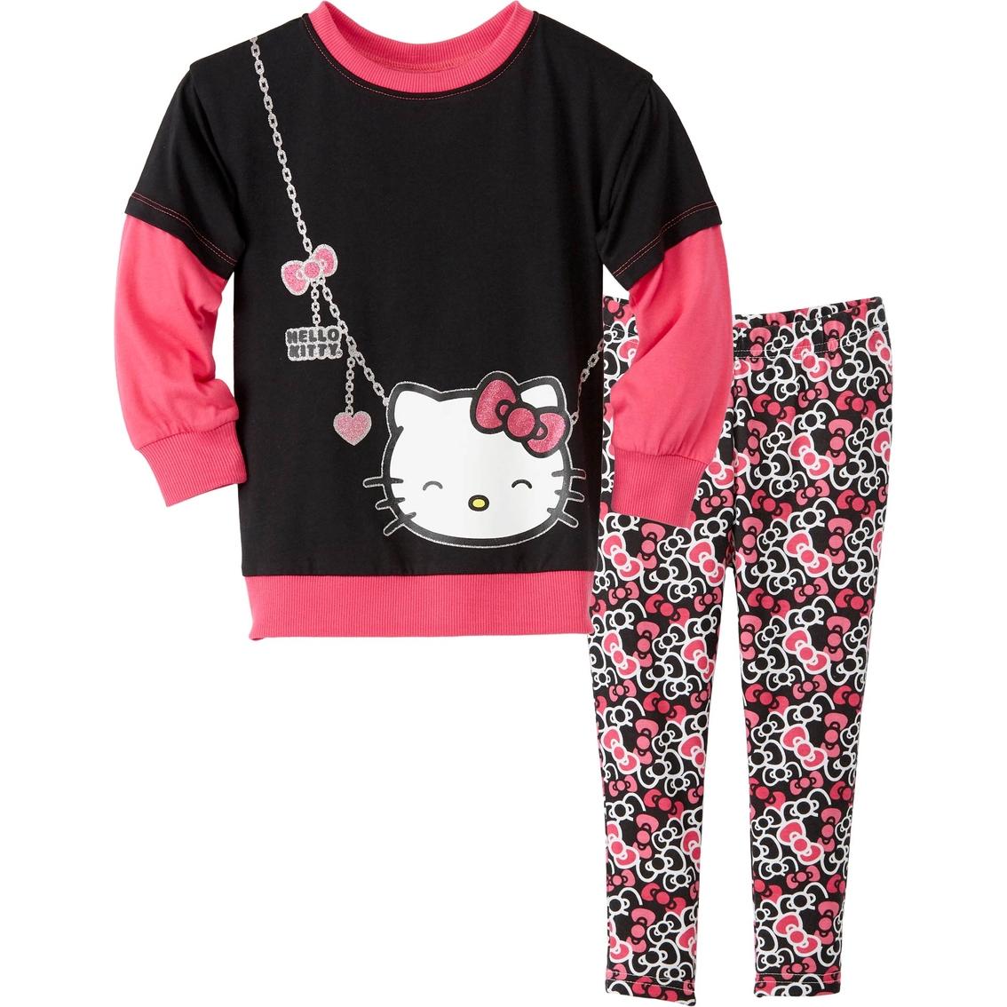 Hello Kitty Toddler Girls 2 Pc Leggings Set