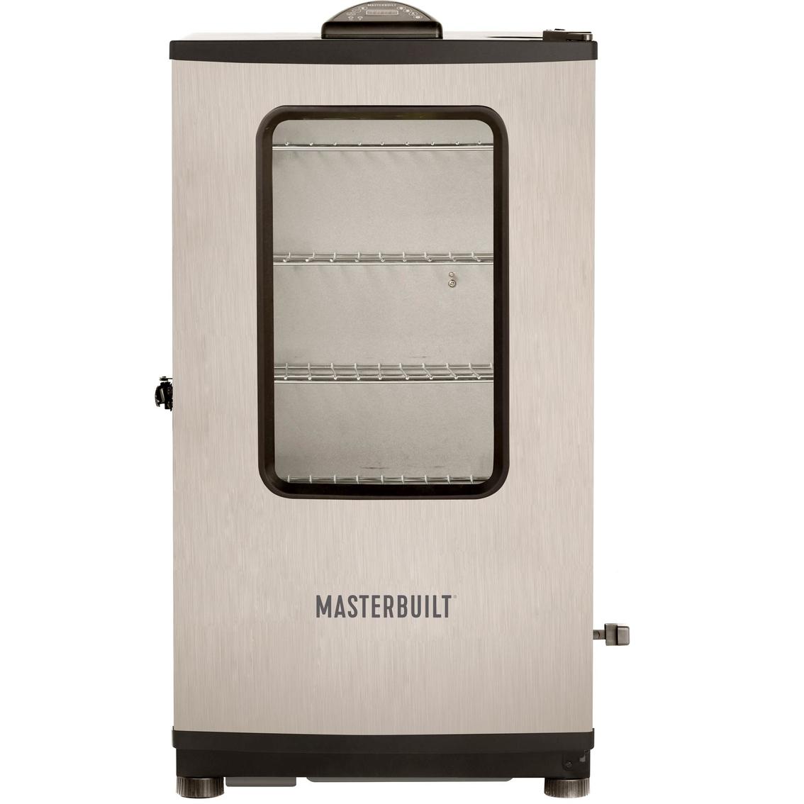 masterbuilt mes 140s digital electric smoker grills smokers fryers patio garden garage shop the exchange