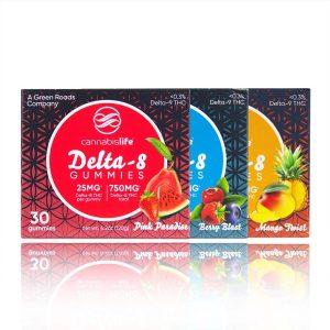 Cannabis Life Delta-8 THC Gummies
