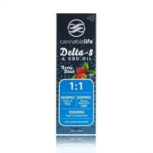 Cannabis Life Delta-8 THC Tincture 1000mg