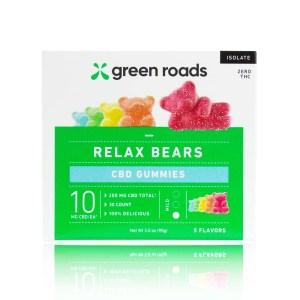 Green Roads Relax Bears Full Size