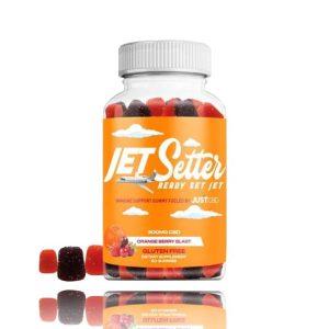 JustCBD Jet Setter CBD gummies