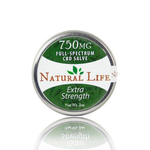 Natural Life 750 mg CBD Salve