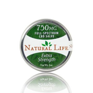 Natural Life 750 mg CBD Salve