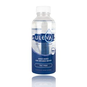 Uleva nano-sized CBD infused water