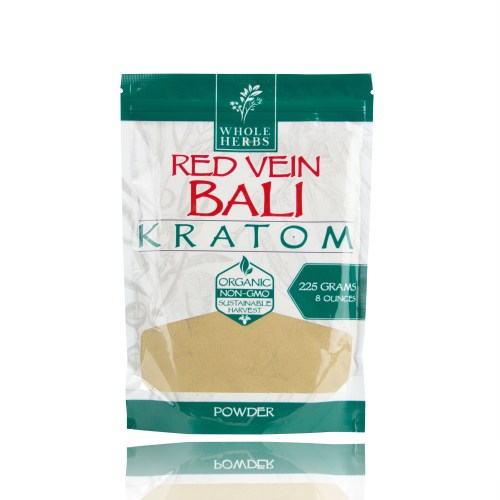 Whole Herbs Kratom Powder Red Vein Bali