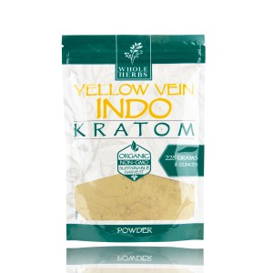 Whole Herbs Kratom Powder Yellow Vein Indo