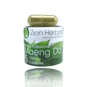 zion herbals maeng da capsules