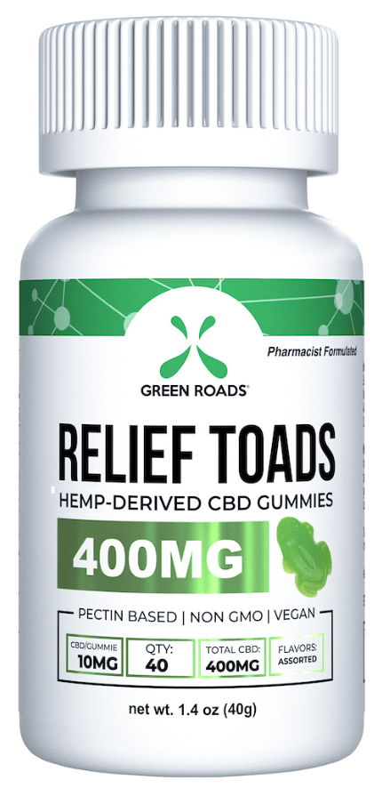 CBD Relief Toads 400 mg by Green Roads