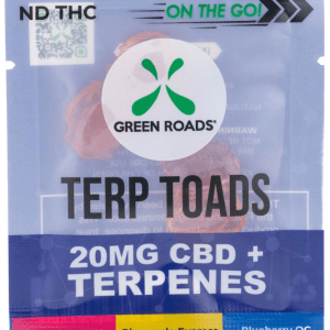 CBD Terp Toads 20 mg by Green Roads