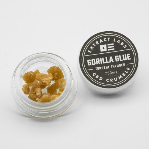 Crumble - Gorilla Glue 750mg CBD 100mg CBG