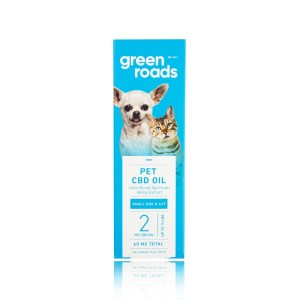 Green Roads Pet CBD Oil Small Dog and Cat