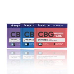 hhemp CBG and CBD Pouch