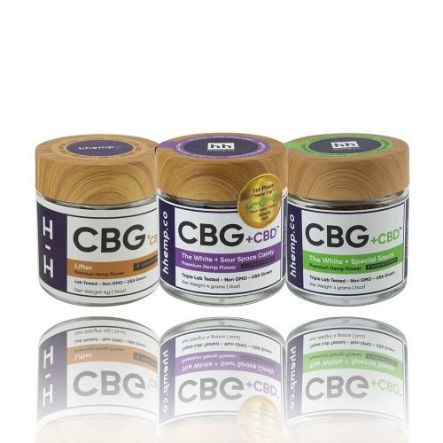 hhemp CBG plus CBD premium hemp flowers