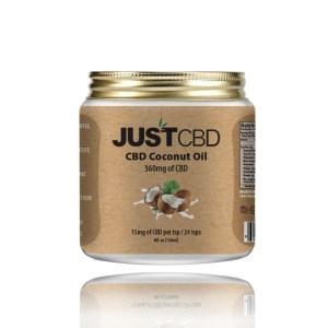 JustCBD Coconut Oil