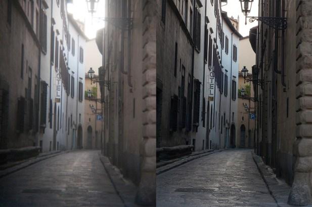 lens testin narrow street 2