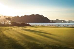Dunes Golf Course 13th green (par 5)