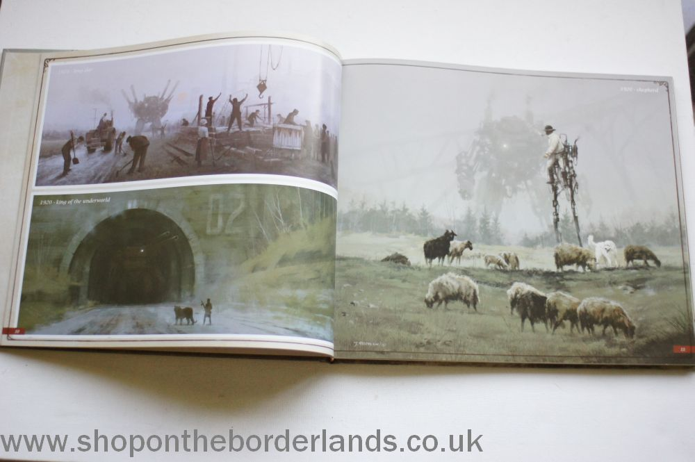 Scythe Art Book Boxed Board Game And Hardback Art Book The Shop On The Borderlands