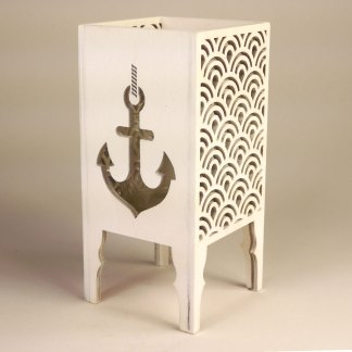 Anchor tea light lantern