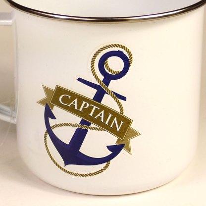 Enamel Captain Mug