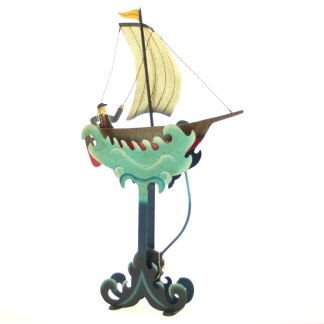Sailing Seven Seas Balance Sculpture