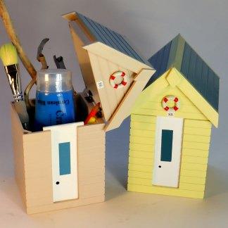Beach Hut Storage Boxes