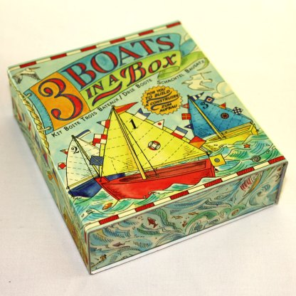 Three Boats in a Box Toy Kit