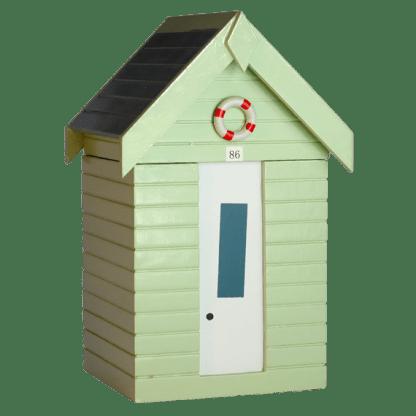 Pastel Green Beachhut