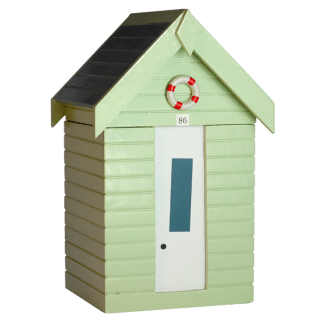 Pastel Green Beachhut